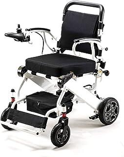 EDECO 电动车椅/车座 电动推车 折叠式 轻量化 小巧 可手动安装 长距离 白白白 护理 老年人 障碍者 安全放心