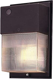 EATON Lighting W-35-H/PC 35W High Pressure Sodium Wall Pack with Photo Control, Bronze