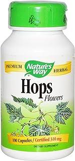 NATURE'S WAY, Hops Flowers - 100 caps