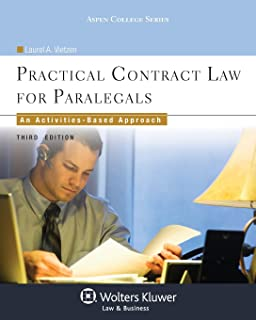 Practical Contract Law for Paralegals: An Activities-Based Approach, Third Edition (Aspen College)