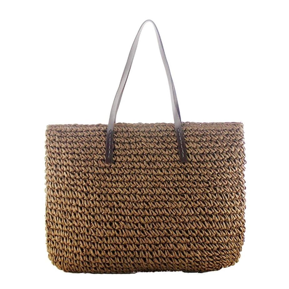 アデレード所有者誰カゴバッグ ストローバッグ 草編みバッグ パーチャスバッグ かごバッグ 編みかご 編みバック 手編みかご トートバック 肩掛け レディース ハンドルバック ショルダーバッグ 大容量 夏 海バッグ