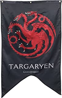 "Calhoun Game of Thrones House Sigil Wall Banner (30"" by 50"") (House Targaryen)"
