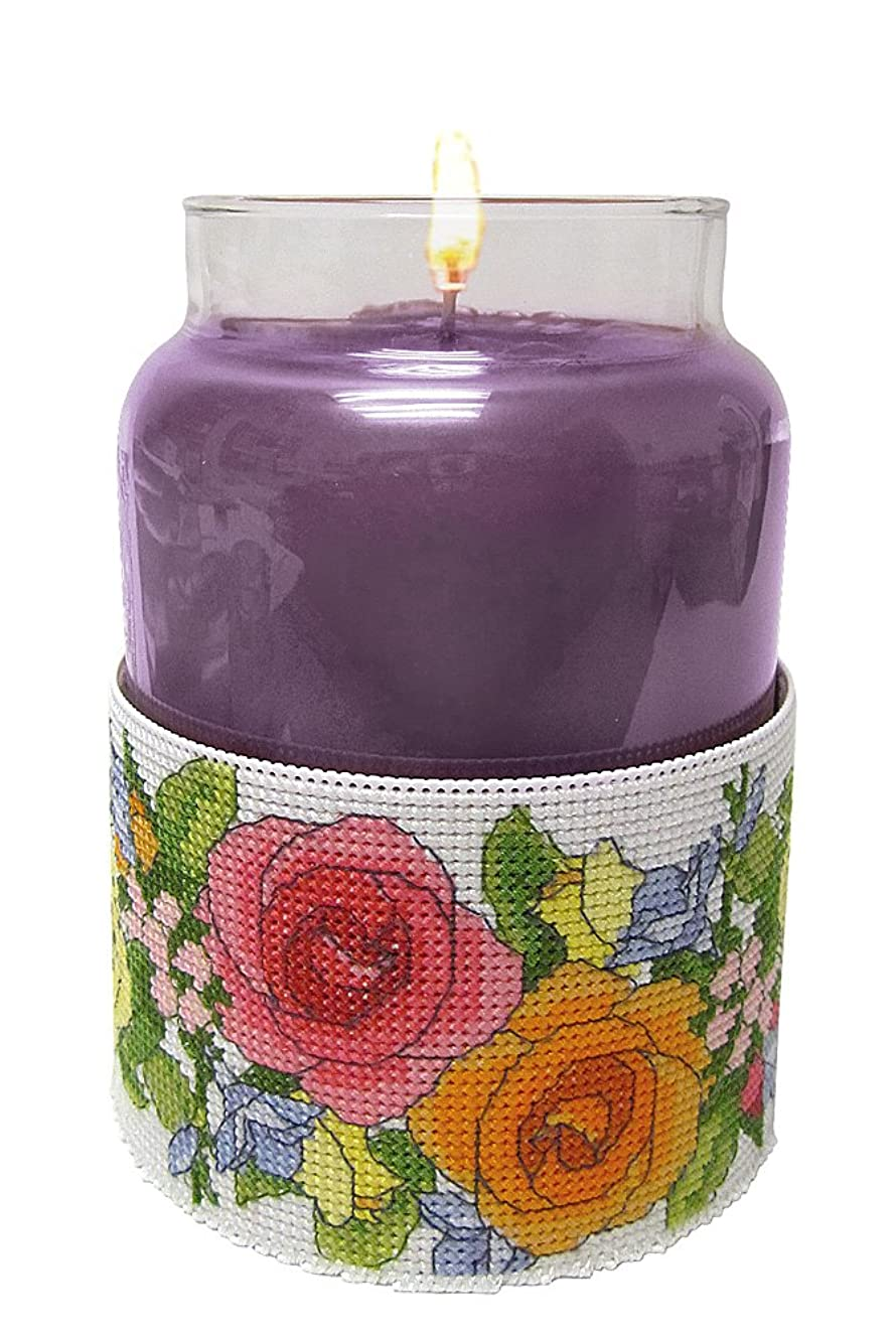 Janlynn Spring Rose Garden Candle Corsets Counted Cross Stitch