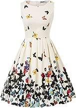 GRACE KARIN Vestido Floral para Fiesta Estampado Vintage Años 50