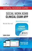 Social Work ASWB Clinical Exam Guide, Second Edition: Digital Access Card – ASWB Study Guide App for Clinical Exam, 170-Question LCSW Practice Test - Includes All Content From the Book!
