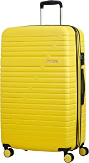 American Tourister Aero Racer Spinner 79 Expandable - 4.6 Kg Bagaglio a Mano 115 Litri, Giallo (Lemon Yellow)