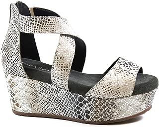 Diba True Busta Move, Snake Platform Wedge Sandal