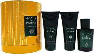 Acqua Di Parma Colonia Club Coffret: Eau De Cologne Spray 100ml + Hair And Shower Gel 75ml + After Shave Balm 75ml 3pcs