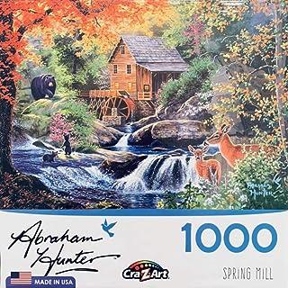 Cra-Z-Art Abraham Hunter Spring Mill Jigsaw Puzzle - 1000 Pieces