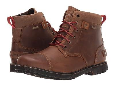 Rockport Waterproof Rugged Bucks II CT Boot (Bison) Men