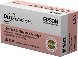 Epson DiscProducer PP-100/PP-50 C13S020449 Ink Cartridge (Light Magenta, 1-Pack) in Retail Packaging