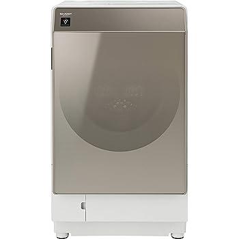 シャープ SHARP ドラム式洗濯乾燥機(ヒートポンプ乾燥) ゴールド系 右開き(ヒンジ右) 幅640mm 奥行728mm DDインバーター搭載 洗濯11kg/乾燥6kg ES-G111-NR