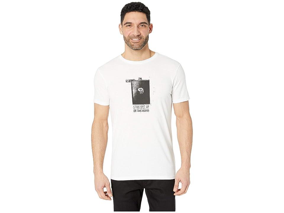 Mountain Hardwear Straight Uptm Short Sleeve Tee (White) Men