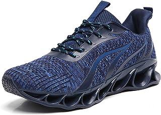Sponsored Ad - wanhee Men's Sneakers Sport Running Athletic Tennis Walking Shoes