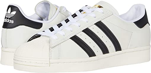 Footwear White/Core Black/Gold Metallic