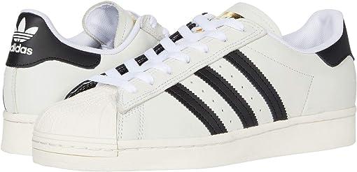 Footwear White/Core Black/Gold Metallic