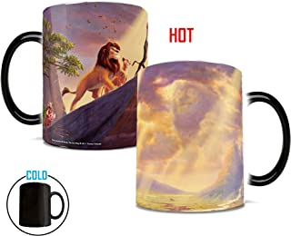 Morphing Mugs Thomas Kinkade Disney's Lion King Painting Heat Reveal Ceramic Coffee Mug - 11 Ounces