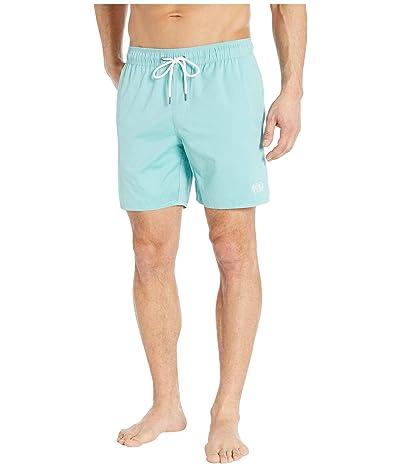 RVCA Opposites Elastic Shorts (Bermuda Blue) Men