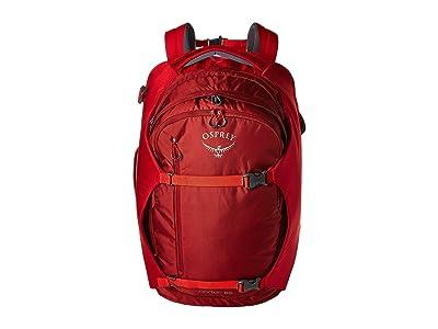 Osprey Porter 65 (Diablo Red) Luggage