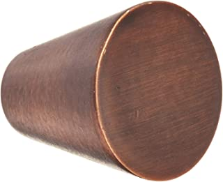 10 Pack Knob Pull Handle Cabinet Hardware Cone Style for Kitchen, Bathroom or Furniture in Brushed Oil Rub Bronze by HardwareDirect