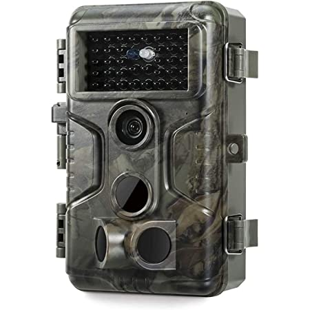 GardePro A3S Trail Game Camera 24MP 1080P H.264 MP4 Video Next-Gen Imaging Technology 100ft No Glow Night Vision 0.1S Trigger Speed Motion Activated IP66 Waterproof