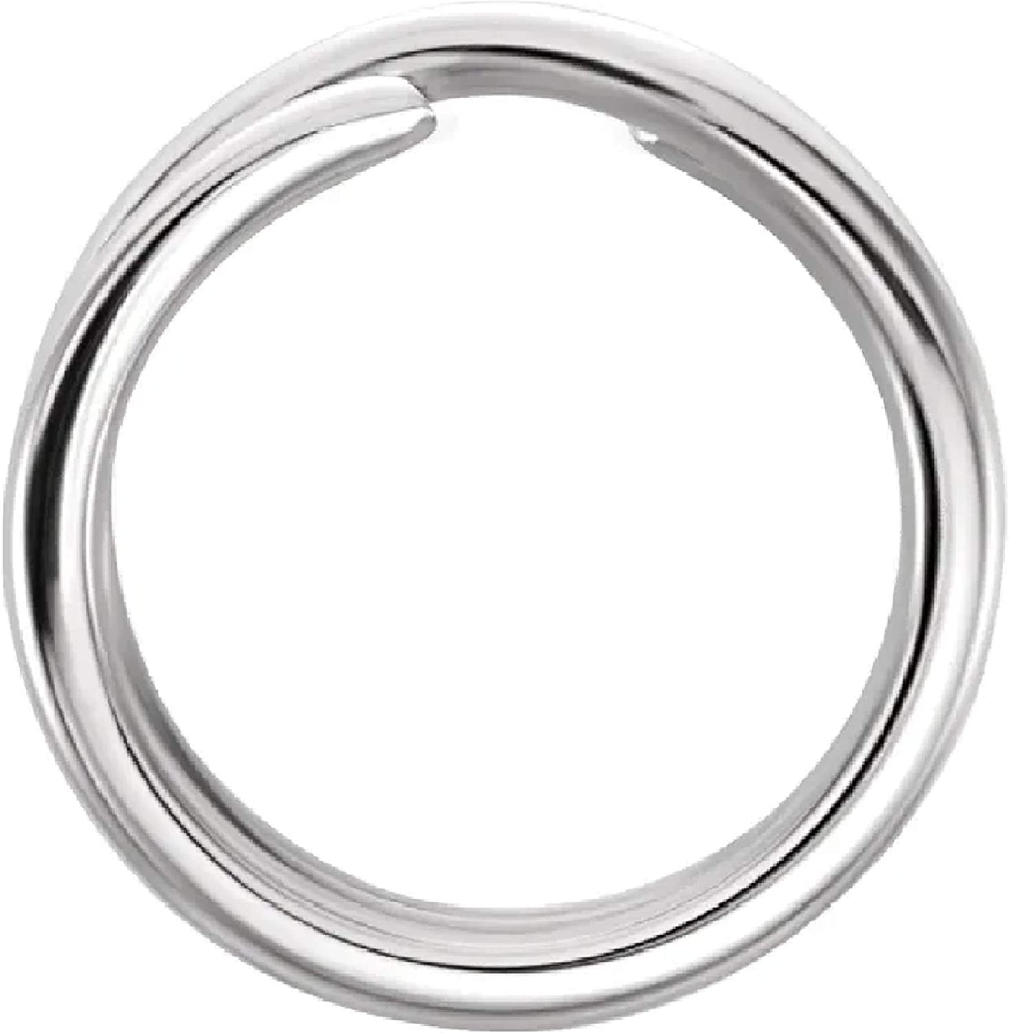 14K or Silver 5mm-8mm Round Oval Manufacturer regenerated product Rings Jacksonville Mall Ring Jump Charm Key Split