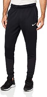 Nike Men's Dri-FIT Fleece Plus Pants, Black/Black/White