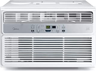 Midea Window Air Conditioner 12000 BTU Easycool AC (Cooling, Dehumidifier and Fan Functions) for Rooms up to 550 Sq, ft. with Remote Control 12,000