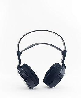 Sony MDR-RF912RK Sistema de Auriculares inalámbricos de radiofrecuencia estéreo de TV con Controladores de 40 mm, reducción de Ruido y Largo Alcance inalámbrico, Color Negro (no al por Menor)