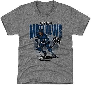 500 LEVEL Auston Matthews Toronto Hockey Kids Shirt - Auston Matthews Rise