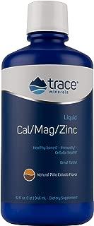 Liqumins Cal/Mag/Zinc Liquid Supplement, Natural Pina Colada Flavor, 32-Ounce Bottle