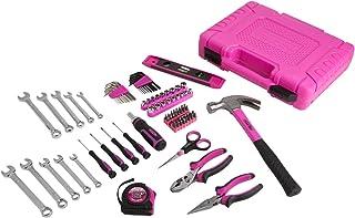 The Original Pink Box PB48HRK Home Repair Set, Pink, 94-Piece by The Original Pink Box