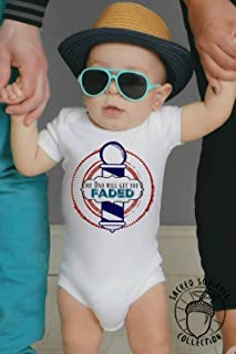 Barber Baby Toddler Kids Onesie or Tshirt Size Options Customize Relation Dad Mom Uncle Aunt Hair Stylist Faded Cut Clippers Fresh