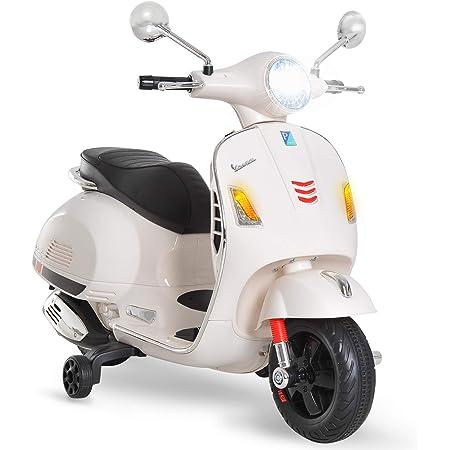Scooter électrique LT858 pour enfants HAPPY deux vitesses monoplace 6 12V Blanc MEDIA WAVE store ®