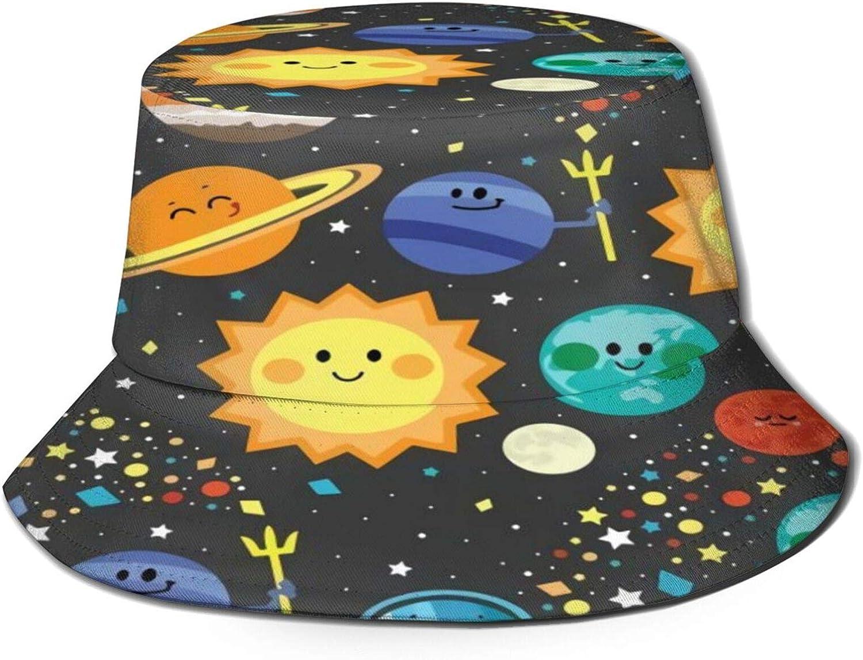 Solar wholesale System Bucket Hat Unisex Sun Save money Fisherman Summer Packable