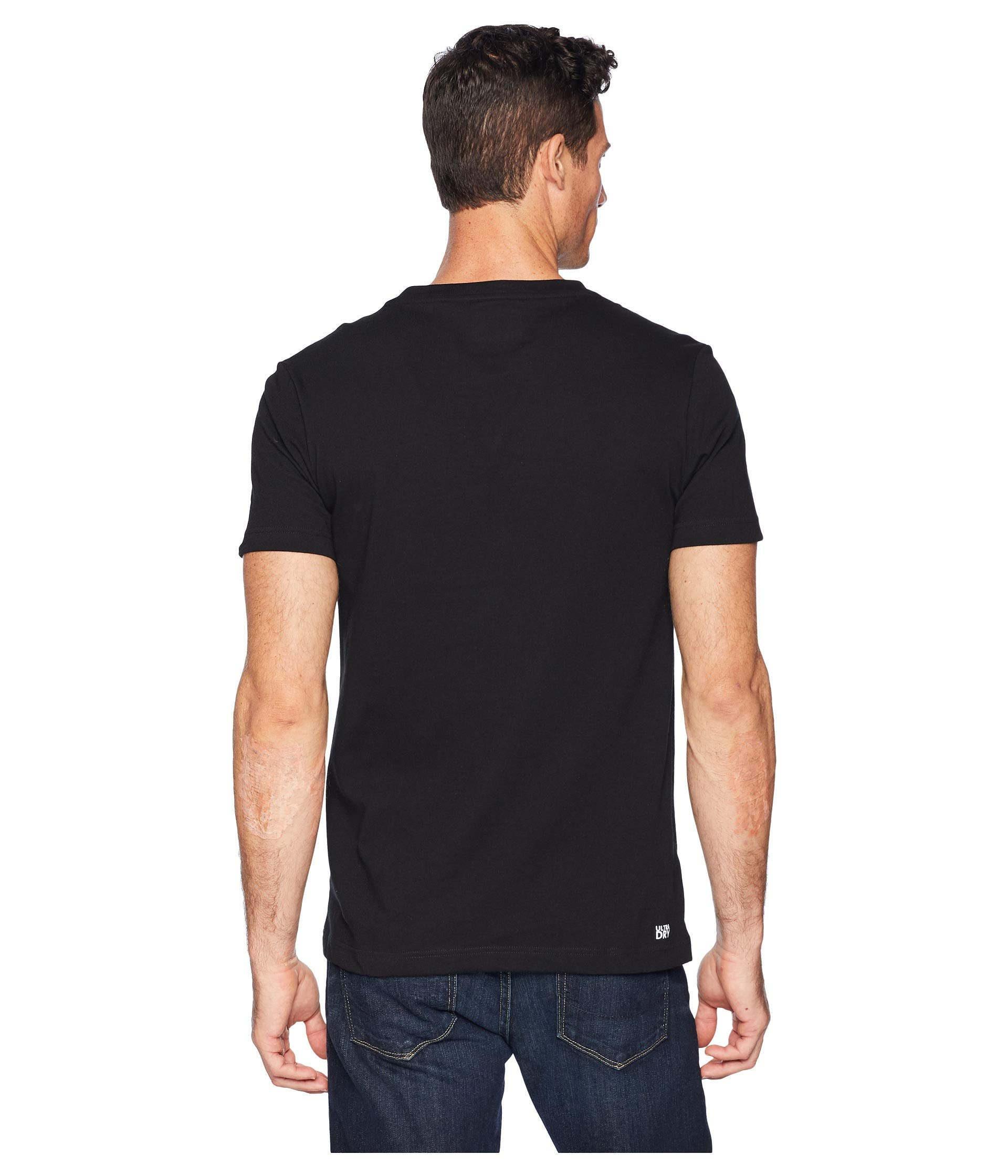 Sleeve Novak white Graphic Sport Lacoste Black Djokovic Jersey Swift Hand Short wtOERqOC