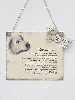 Targa personalizzata per cane, gatto o animale di famiglia