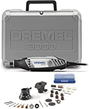 Dremel 3000-2/28 Variable Speed Rotary Tool Kit- 1 Attachments & 28 Accessories-..