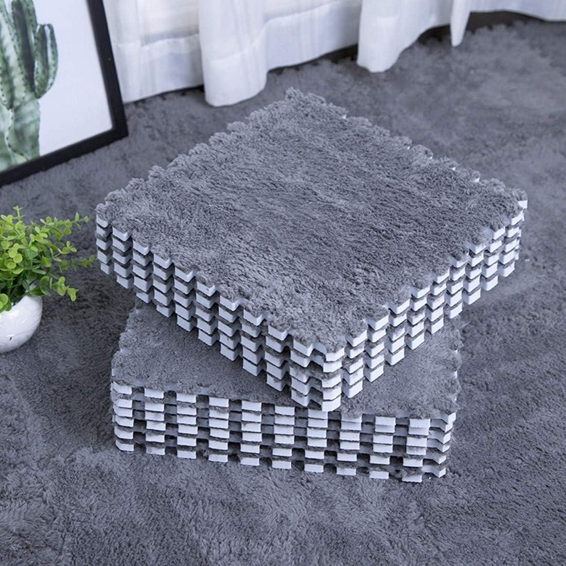 Translated Popular standard Smabee Interlocking Carpet Shaggy Soft Fluffy EVA Foam Area Mats