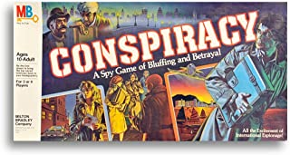 Conspiracy a Spy Game of Bluffing and Betrayal