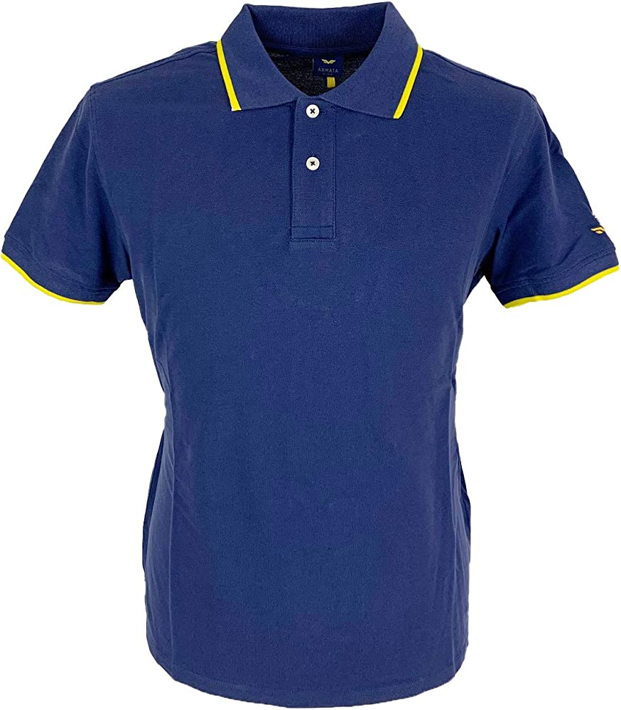 Armata di mare polo , maglietta per uomo a maniche corte , in cotone al 100 % M-5352994 13