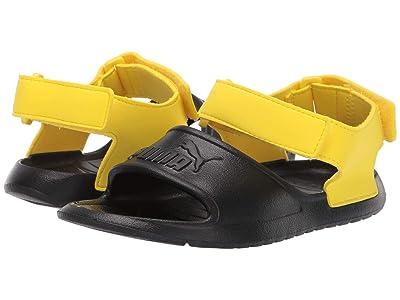 Puma Kids Divecat Injex (Little Kid) (Puma Black/Blazing Yellow) Kid