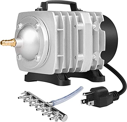 popular VIVOSUN 317-1750GPH Commercial Air Pump 20W-102W, 18L-110L/min, sale 4-12 Outlets Air Pumps for Aquarium and lowest Hydroponic Systems outlet sale