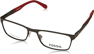 نظارات فوسيل 7028 0003 بلون اسود مطفي/ عدسات تجريبية 00