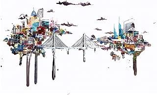Tilikum Crossing Bridge in Portland, Oregon Travel Art Print Poster by Ursula Barton (18