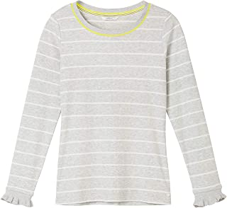 9a4e609a5ea Sandwich Clothing - Striped Rib Jersey Top, Fresh Grey HTR