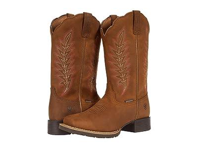 Ariat Hybrid Rancher H2O (Pebble Tan) Cowboy Boots