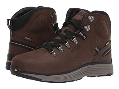 Keen Utility Manchester 6 Aluminum Toe WP (Cascade Brown/Brindle) Men