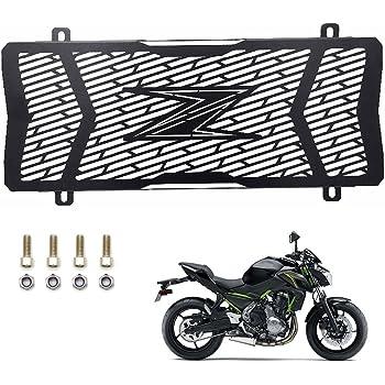 CHUDAN Z650 Moto Refroidisseur deau en Acier Inoxydable Kit de calandre Grille de Protection Grille de Protection du radiateur pour Kawasaki z650