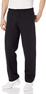 Gildan Men's Fleece Open Bottom Pocketed Pant